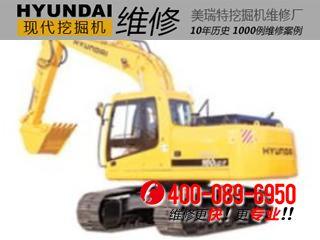 现代R160LCD-7挖掘机热车干活无力
