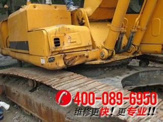 现代R305挖掘机热车后整机工作无力