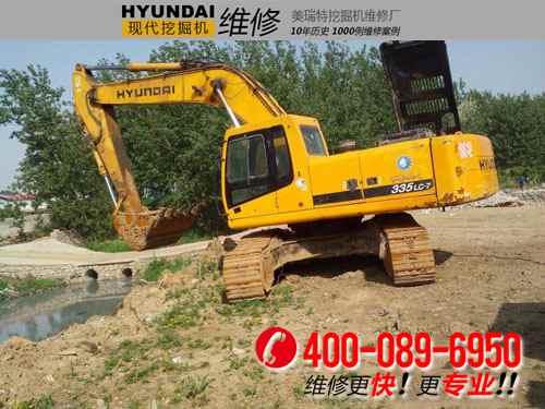 四川攀枝花现代R305LC-7工作装置滞后时间长