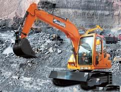 詹阳动力JY608、柳工904C、现代京城R80-9小型挖掘机图解