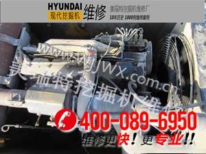 广安现代R250LC-7挖掘机装配介绍
