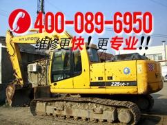 江津现代R385LC-9挖掘机油泵、油马达、油缸各种阀过热故障