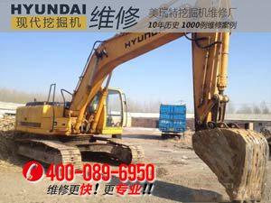 隆昌县现代R265LC-7挖掘机行走、回转速度慢咋办