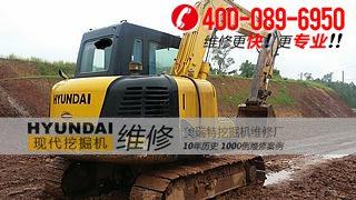 大竹县现代80-7挖掘机空气压缩机异响的原因