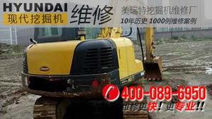 南充顺庆区现代80-7挖掘机速度变慢,动力不足